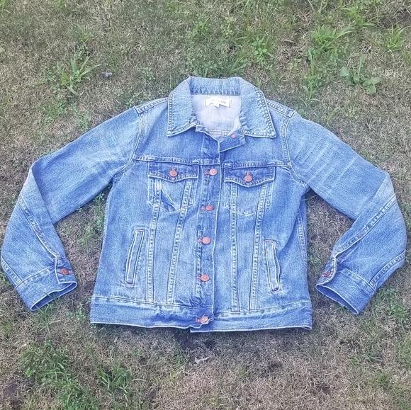Madewell Denim Jacket Womens Sz Small Jean Jacket